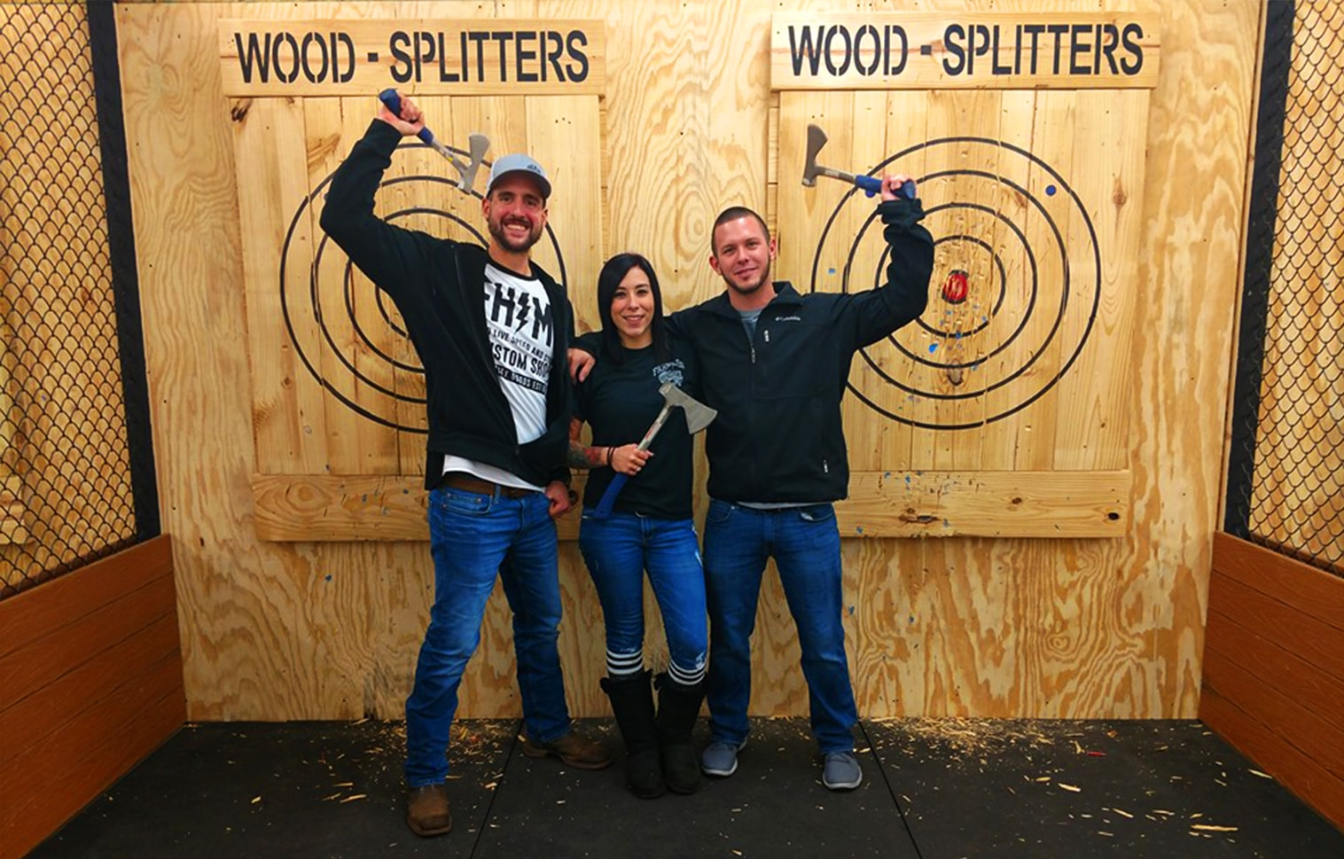 Wood Splitters Axe Throwing in Grand Rapids Feature 2