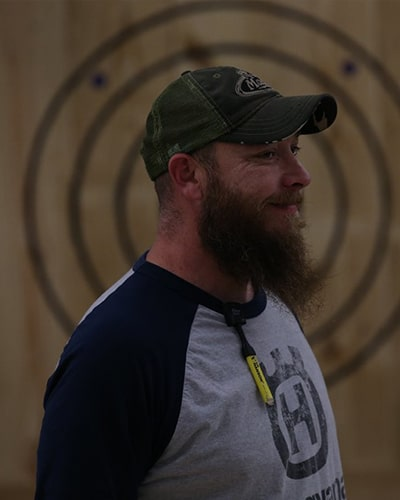 Wood Splitters Axe Throwing Instructor